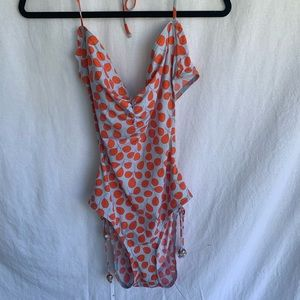GAP Body Blue & Orange Bathing Suit Size XL